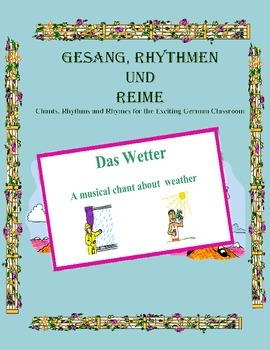 German Musical Chant About Weather - Das Wetter