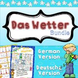 Das Wetter - German - bundle (in color and easy to print)