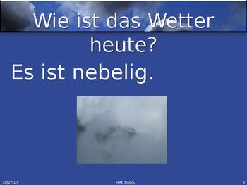 Das Wetter / The weather
