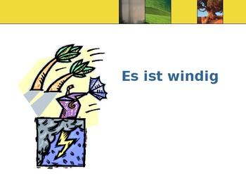 """Das Wetter / Weather / Weather with """"wenn"""""""