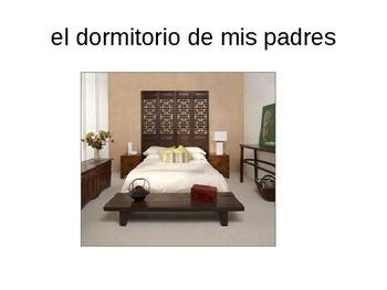Mi casa / Las habitaciones / My house / Rooms in my house