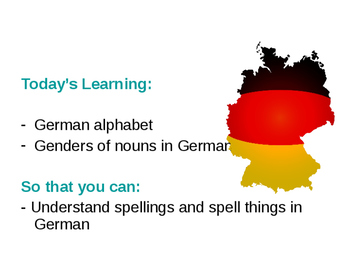 Das deutsche ABC / The German alphabet / Spelling in German