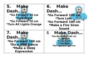 Dash Activity Cards