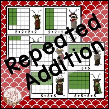 "Christmas Math ""Repeated Addition"" (Dash Array, Dash Array)"