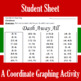 Christmas - Dash Away All - A Coordinate Graphing Activity