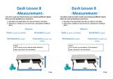 Dash Lessons 7 - 11