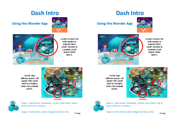 Dash Robot Activity Cards