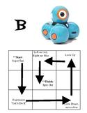 Dash Robot Basic Movement Challenge Cards
