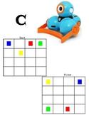 Dash Robot Bulldozer Attachment Challenge Cards