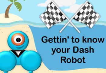 FREEBIE Dash Robot Flipchart Lessons for Grades K-2