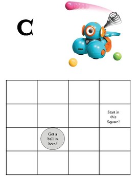Dash Robot Launcher Attachment Challenge Cards By Cindy Moorman Tpt