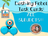Dash-ing Robot Task Cards ALL SUBJECTS Bundle!!!