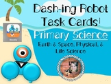 Dash-ing Robot Task Cards Bundle: 6 SCIENCE Lessons!