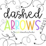 Dashed Arrows Bundle in 4K