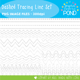 Dashed Lines for Tracing - Clipart for Teachers and Classrooms