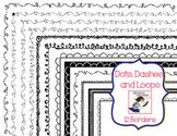 Dashes, Dots, and Loops, Oh My! Skinny Borders