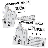 Dashes & Ellipses PowerPoint Notes & Exercises - Grammar Ninja