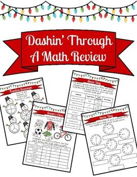 Dashin Through a Math Review