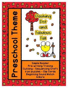 Dashing Dot and Fabulous Fall L1 Gold Theme Unit - Preschool { PbN } SpEd