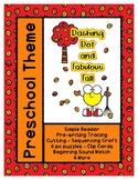Dashing Dot and Fabulous Fall L1 Gold Theme Unit - Prescho