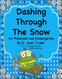 Dashing Through The Snow Winter Literacy for Preschool and Kindergarten