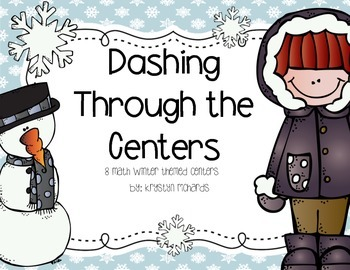 Dashing Through the Centers: 8 Math Winter Themed Centers
