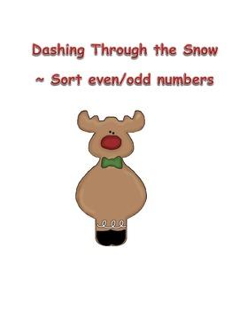 Dashing Through the Snow - Odd/Even Game