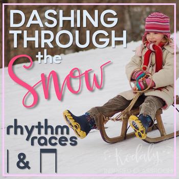 Dashing Through the Snow Rhythm Races: ta and titi