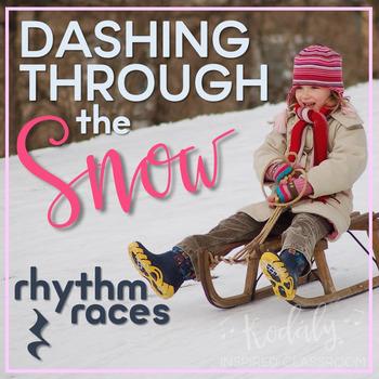 Dashing Through the Snow Rhythm Races: ta rest