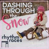 Dashing Through the Snow Rhythm Races: ti-tiri