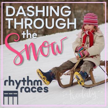 Dashing Through the Snow Rhythm Races: tiri-tiri