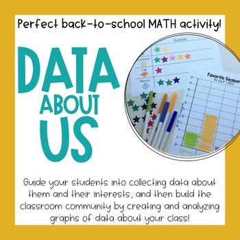 Data About Us - Community Building Math Activity