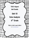 Data Analysis - (6th Grade Math TEKS 6.12A-D and 6.13A-B)