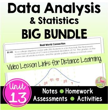 Data Analysis BIG Bundle (Algebra 2 - Unit 13)