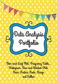 Data Analysis-Box-and-Whisker, Frequency, Histogram, Stem-