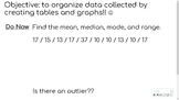 Data Analysis - Collecting and Organizing Data