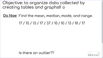 Data Analysis - Collecting and Organizing Data