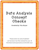Data Analysis Concept Checks