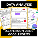 Data Analysis Digital Escape Room Google Forms Distance Learning