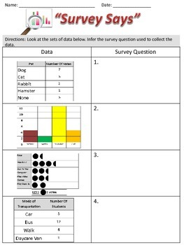 Grade 3 Data Analysis & Graphing Activity Pack