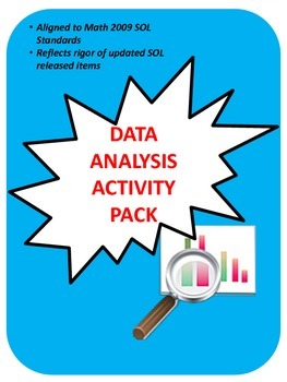 Grade 3 Data Analysis & Graphing Activity Pack
