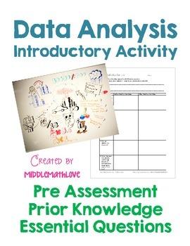 Data Analysis Intro - Pre Assessment, Prior Knowledge, Ess