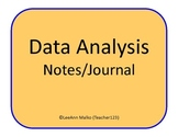 Data Analysis Notes/Journal