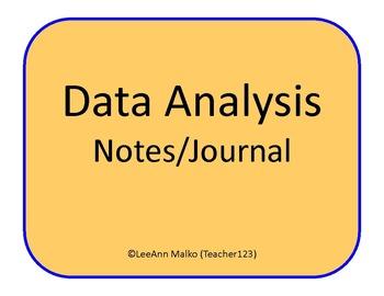 Data Analysis Notes/Journal