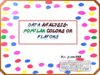 Data Analysis-Popular Colors or Flavors