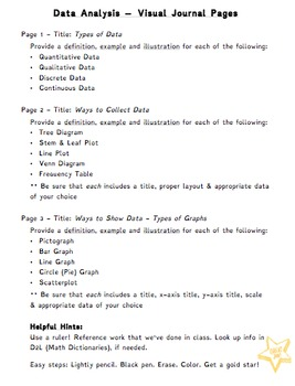 Gr. 6 Data Analysis Practice