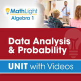 Data Analysis & Probability | Unit with Videos | Good for