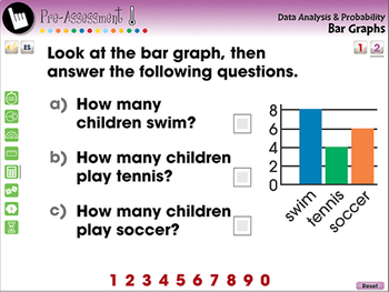 Data Analysis & Probability: Bar Graphs - NOTEBOOK Gr. PK-2
