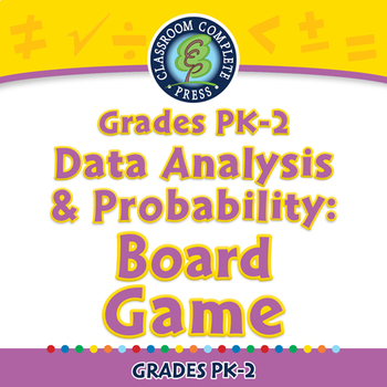 Data Analysis & Probability: Board Game - NOTEBOOK Gr. PK-2