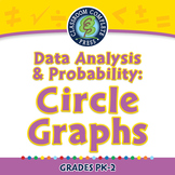 Data Analysis & Probability: Circle Graphs - PC Gr. PK-2